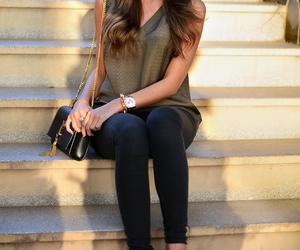 fashion, bag, and blogger image