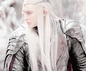 lee pace, the hobbit, and elvenking image