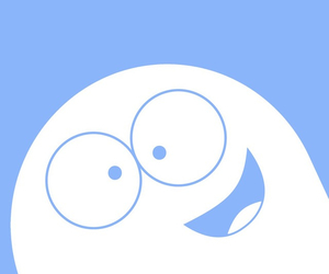 blue, bloo, and smile image