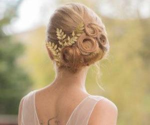 beautiful, black, and blond image