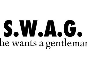 gentleman, she, and swag image