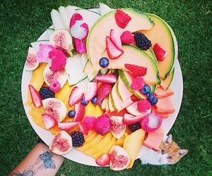 banana, berries, and breakfast image