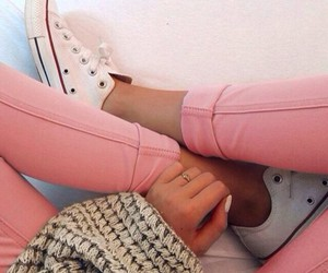 converse, fashion, and pink image