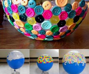 diy, buttons, and balloons image