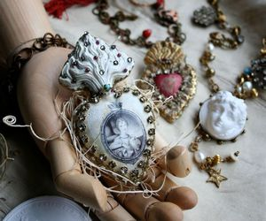 jewelry, shabby chic, and vintage image