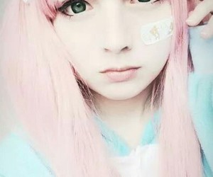 girl and pastel image
