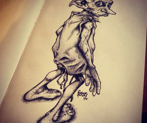 art, drawing, and moleskine image