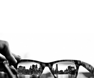 city, photography, and glasses image