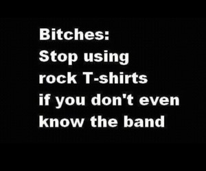 funny, true, and rock t-shirts image