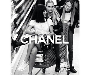 rihanna, chanel, and girls image