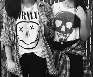 grunge, nirvana, and fashion image