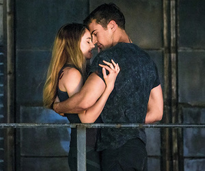 four, Shailene Woodley, and theo james image
