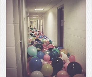 balloons, hipster, and party image