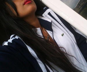 girl and lacoste image