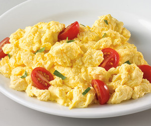 scrambled eggs, tomorrow, and for breakfast image