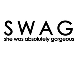 swag, gorgeous, and quote image