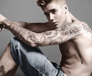 justin, swag, and Tattoos image