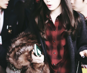 airport, fashion, and girls generation image