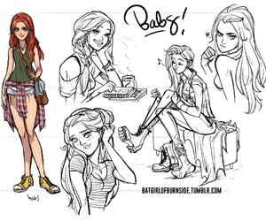 barbara, batgirl, and baz image