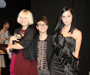 Christian Siriano, Leigh Lezark, and Sia image