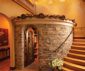 home, house, and stairs image
