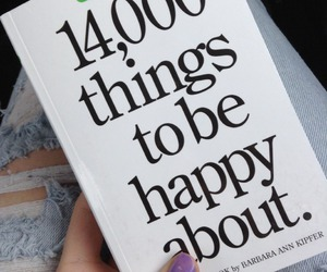 book, happy, and carefree image