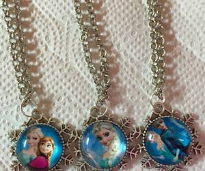 disney, frozen, and necklaces image