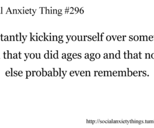 social anxiety, true, and text image