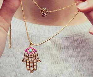 fashion, necklace, and girly image