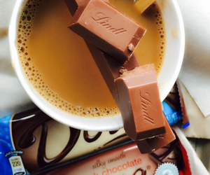 chocolate, coffee, and dove image