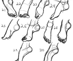 love, dance, and foot image