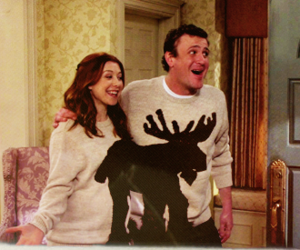 himym, couple, and how i met your mother image