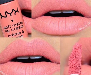 lips, NYX, and makeup image