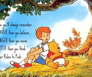 pooh, quote, and strong image