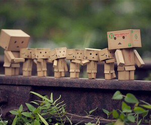 cute, danbo, and family image