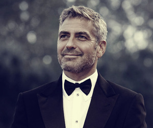 george clooney, man, and suit image
