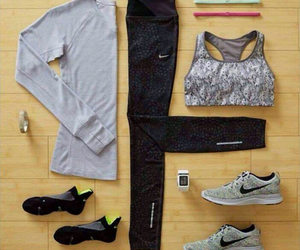 nike, sport, and fitness image