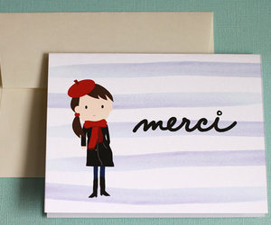 france, merci, and french image