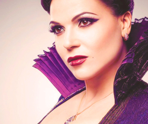 once upon a time, evil queen, and regina image