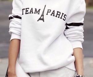 fashion, paris, and white image