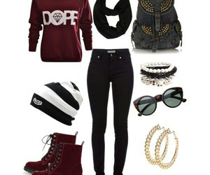 dope, swag, and outfit image
