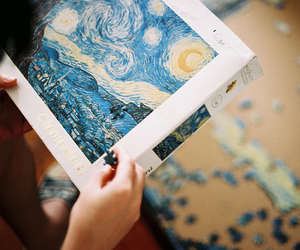 van gogh, vintage, and art image