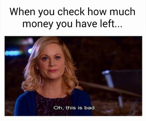 funny, money, and bad image