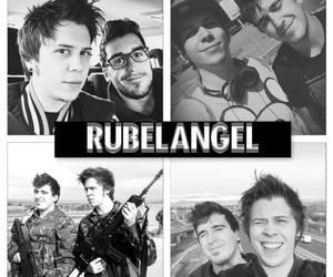 mangel, rubius, and rubelangel image