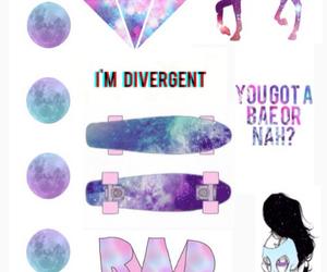 unicorn, galaxy, and weird image