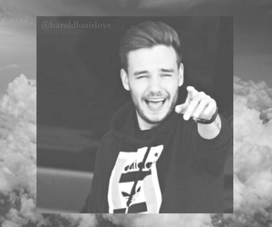 black and white, clouds, and lilo image