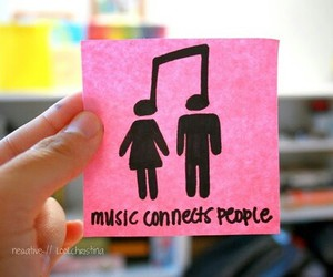 music, tumblr, and connect image