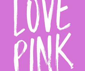 pink, wallpaper, and Victoria's Secret image