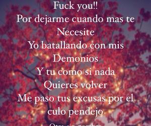 desamor, triste, and frases en español image