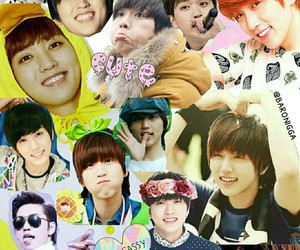 b1a4, sandeul, and 산들 image